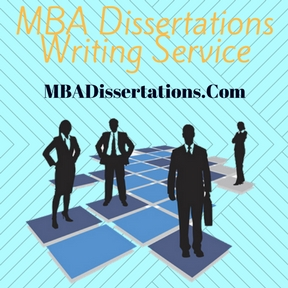 MBA Dissertations Writing Service