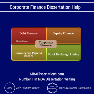 Corporate Finance Dissertation Help