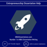 Entrepreneurship Dissertation Help