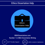 Ethics Dissertation Help