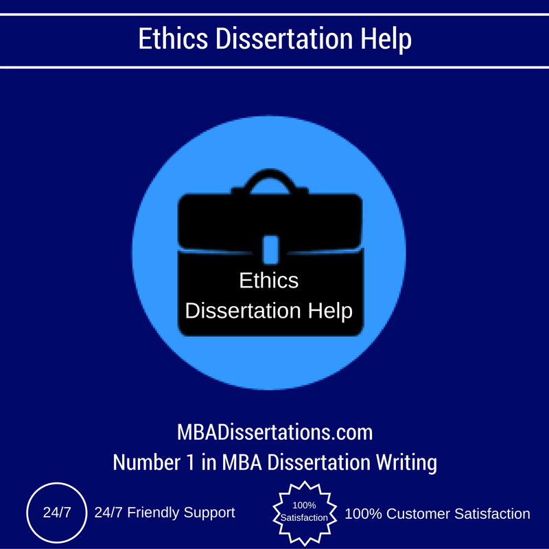 ethics dissertation