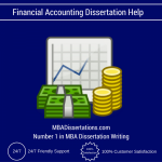 Financial Accounting Dissertation Help