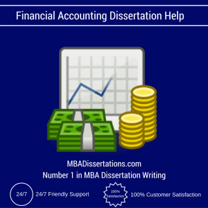 Dissertation accounting and finance