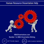 Human Resource Dissertation Help