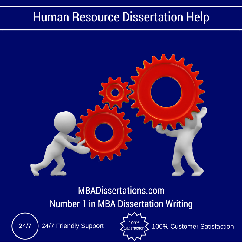 Help on dissertation human resource management