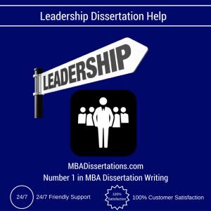 Leadership Dissertation Help