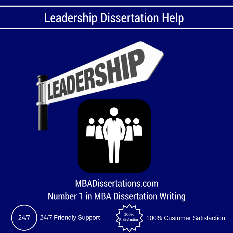 Dissertation leadership research