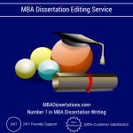 MBA Dissertation Editing Service