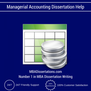 Managerial Accounting Dissertation Help