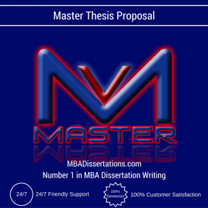 Master thesis proposal literature