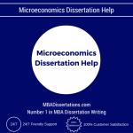 Microeconomics Dissertation Help