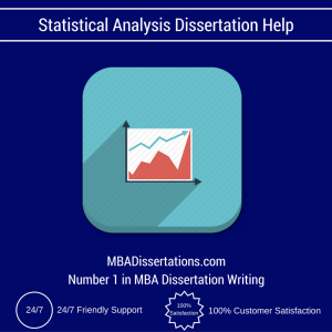 Statistical Analysis Dissertation Help